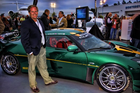 Monterey Car Week D. Brian Smith at McCall's Motorworks Revival