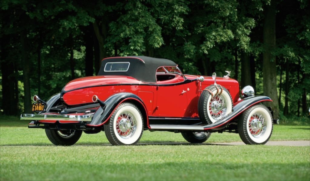 1932 Auburn Boattail Speedster 8-100A Custom Eight