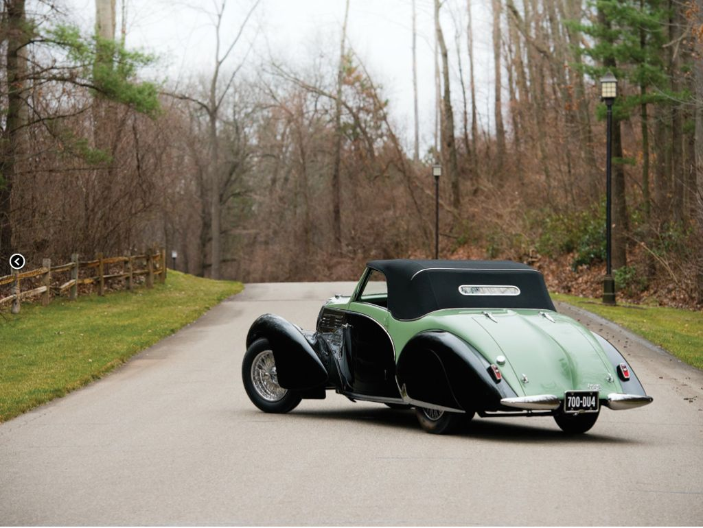 1938 bugatti type 57c aravis cabriolet. Black Bedroom Furniture Sets. Home Design Ideas