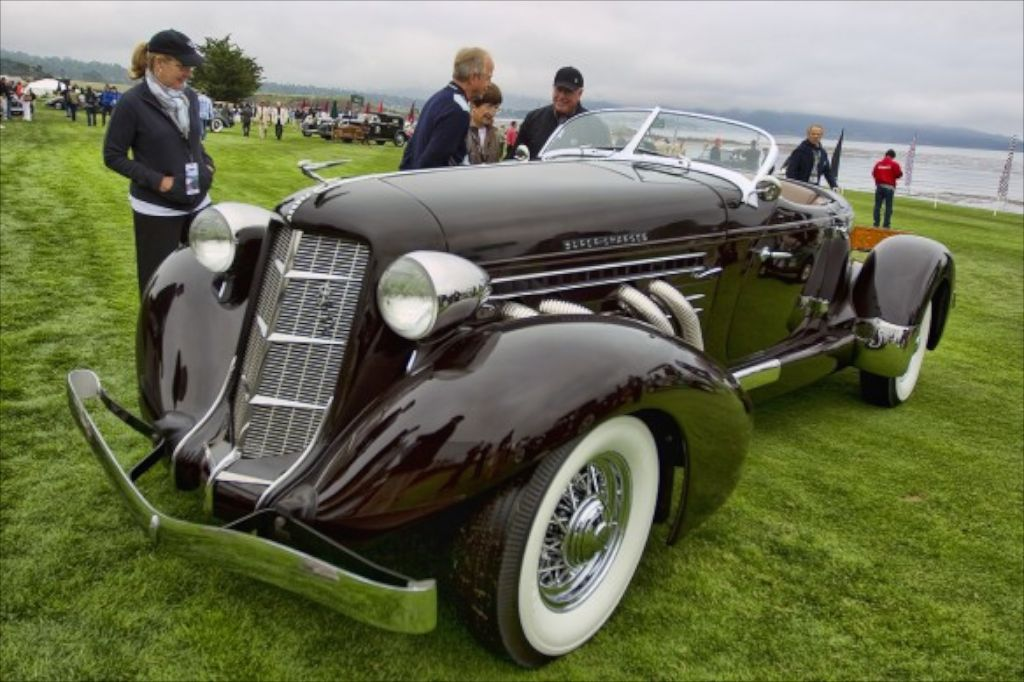 Pebble Beach Concours Auburn Boattail Speedster