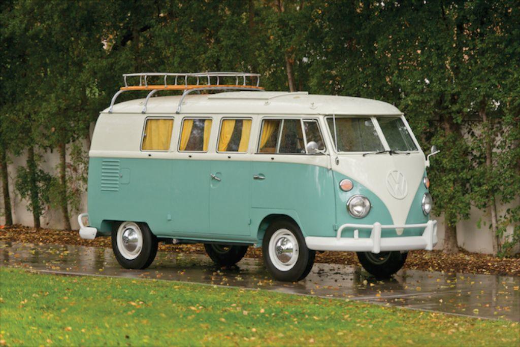 Wheelbase 94.5 in. side-front1 & VW Type 2 Westfalia Camper -- Surfu0027s Up!