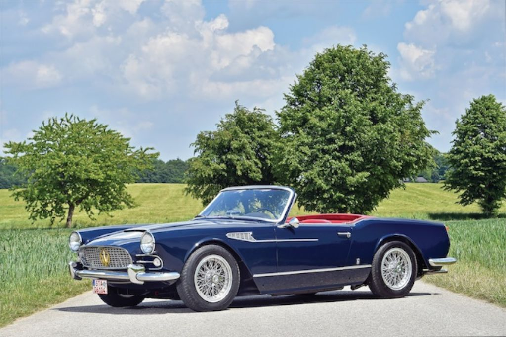 1959 Maserati 3500 GT Prototype by Vignale