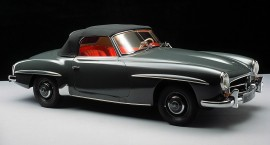A dream come true: 60 years of the Mercedes-Benz 190 SL