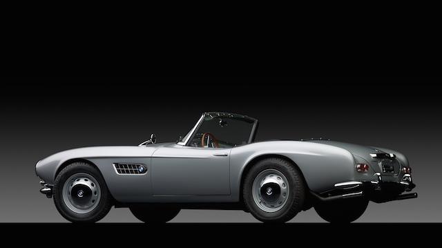 1958 BMW 507 back