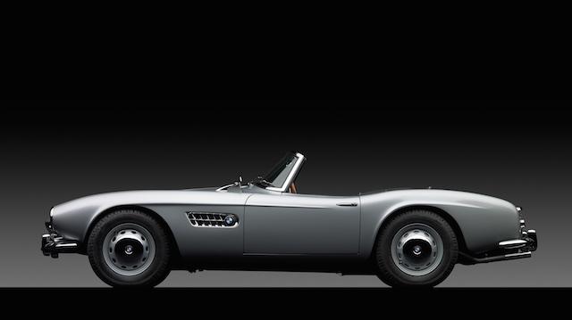1958 BMW 507 side