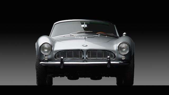 1958 BMW 507 face