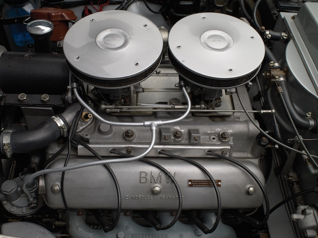 1958 BMW 507 engine