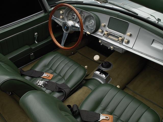 1958 BMW 507 interior