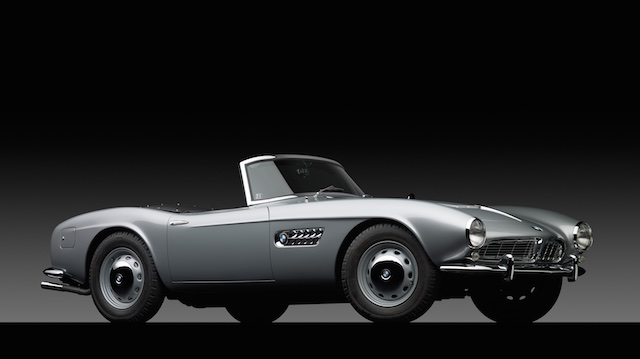 1958 BMW 507 34 front