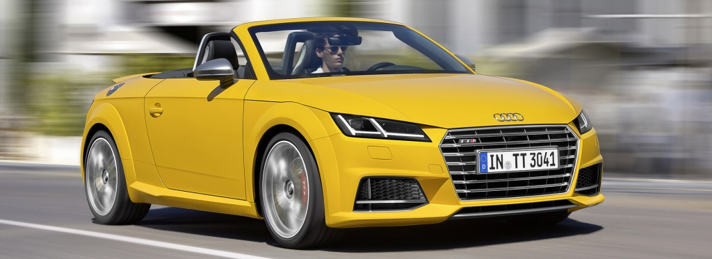audi tts roadster AT SPEED