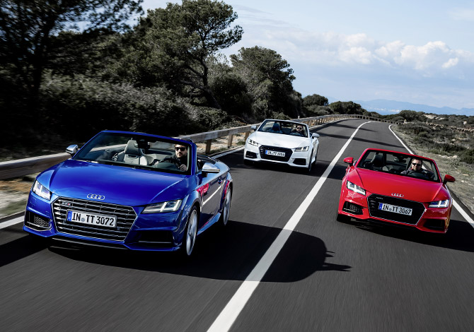 audi tts roadster COLORS
