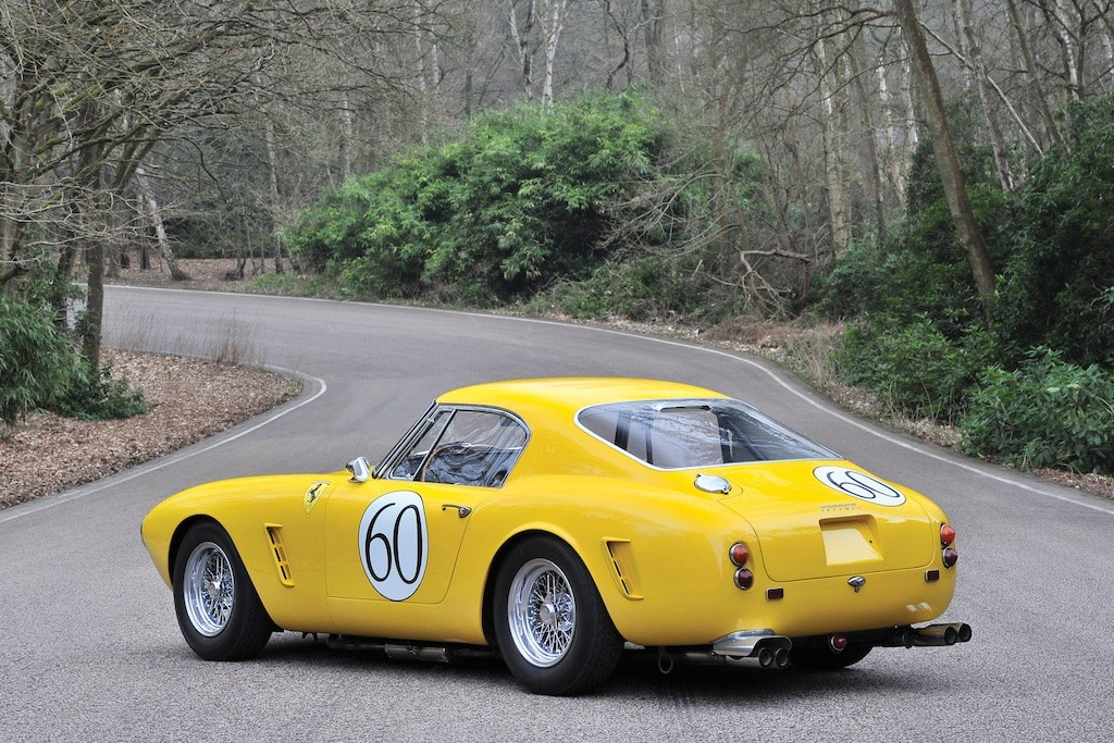 1960 Ferrari 250 GT Berlinetta back