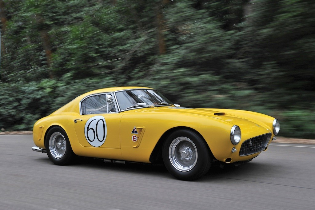 1960 Ferrari 250 GT Berlinetta speeding