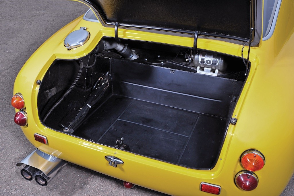1960 Ferrari 250 GT Berlinetta trunk