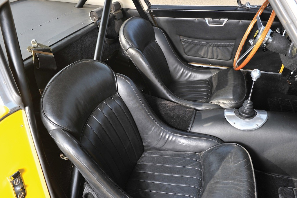 1960 Ferrari 250 GT Berlinetta seats