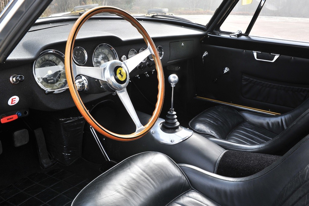 1960 Ferrari 250 GT Berlinetta dash