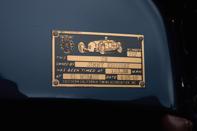 1932 Ford Lakes Roadster Lakes plaque