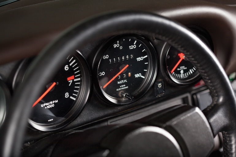 gauges Turbo Carrera U.S.