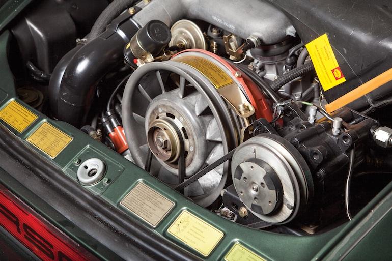 engine Turbo Carrera U.S.