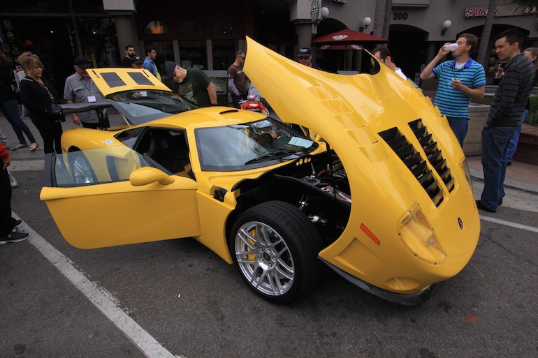 Factory Five Racing HB yellow GTM