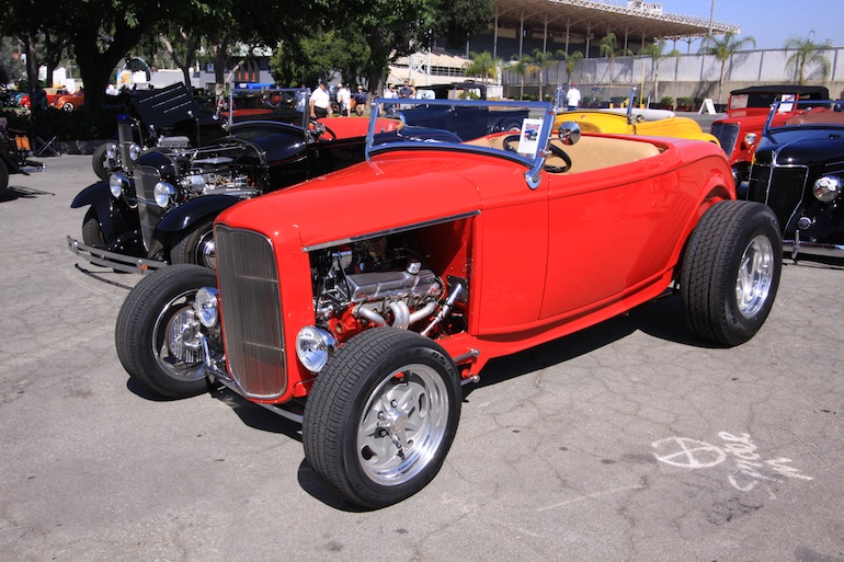 L.A. Roadsters red