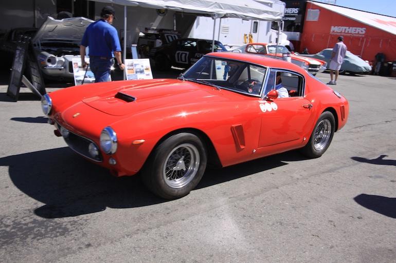 Laguna Seca 2014 Ferrari