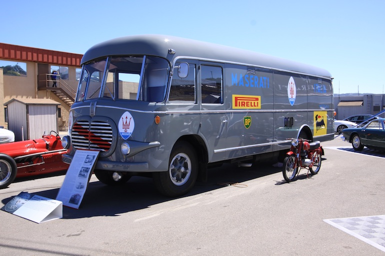 Laguna Seca 2014 team bus