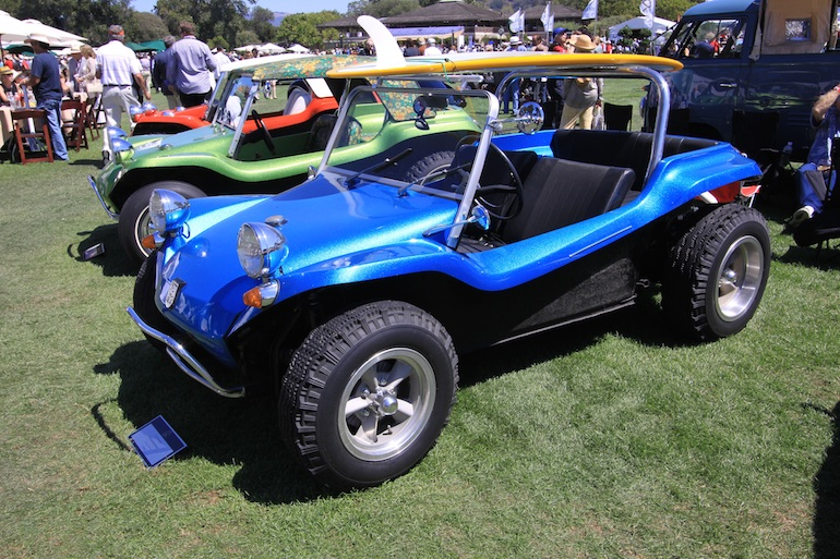 Quail Motorsports Reunion dune buggy