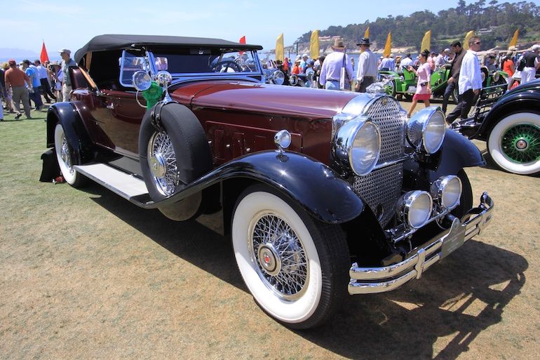 2015 Pebble Beach Concours wide whites