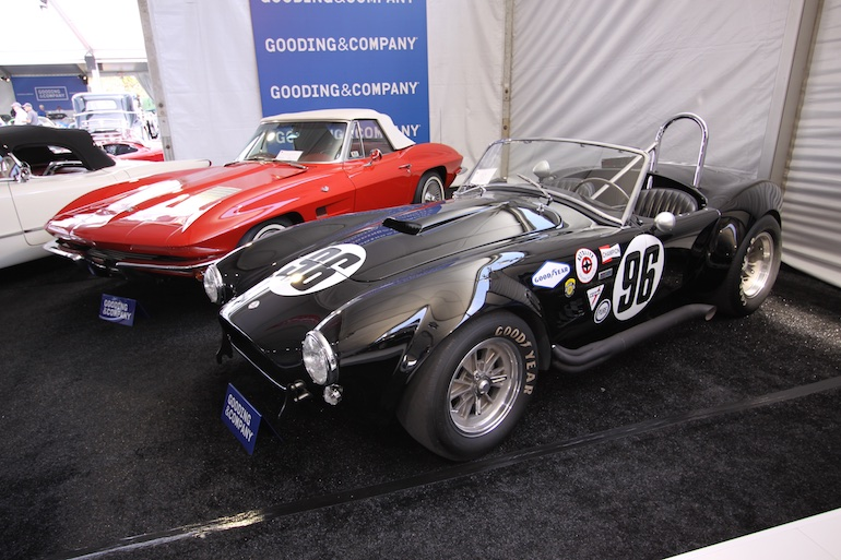 2015 Pebble Beach Concours Cobra and Corvette