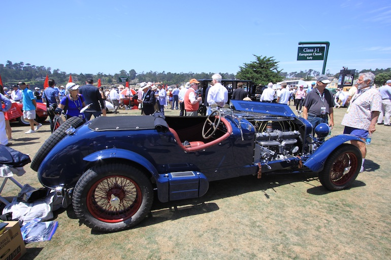 2015 Pebble Beach Concours side