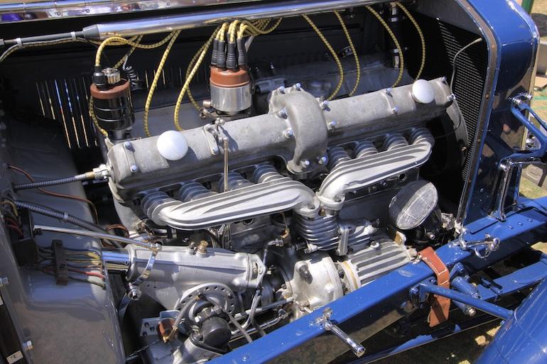 2015 Pebble Beach Concours engine