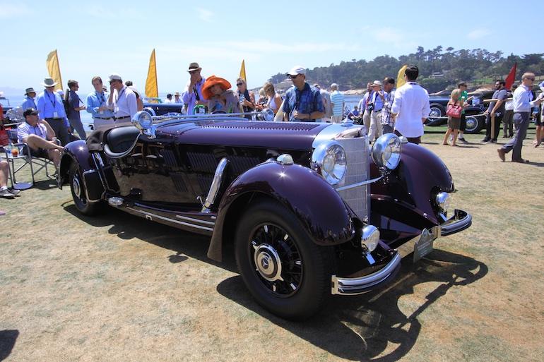 2015 Pebble Beach Concours Benz