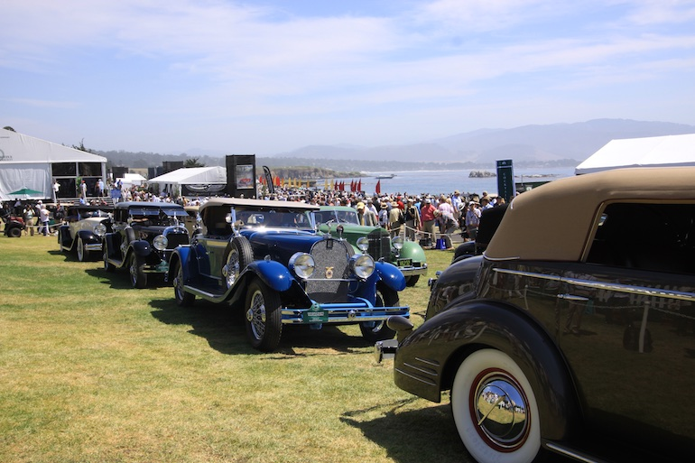 2015 Pebble Beach Concours collection