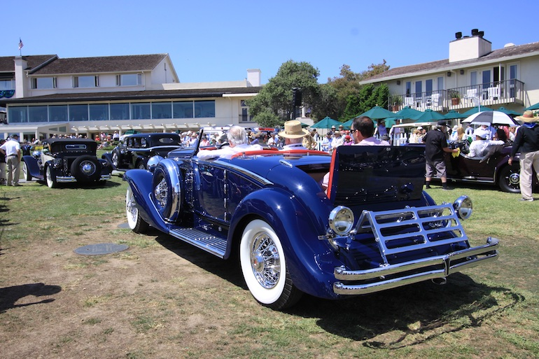 2015 Pebble Beach Concours rumble seat