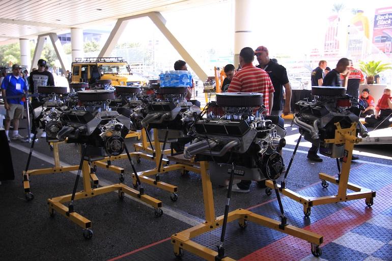 Sema Show engines built