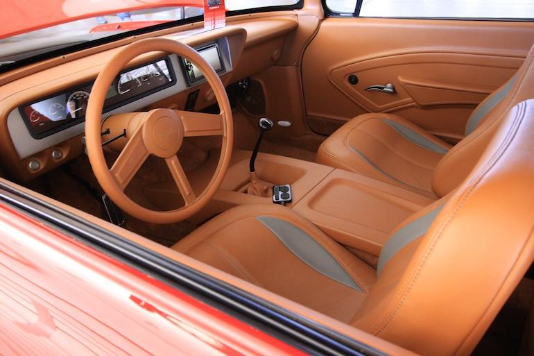 Sema Show cockpit