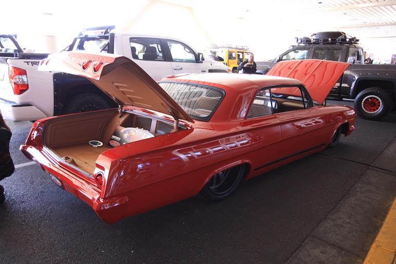 Sema Show Chevy rear