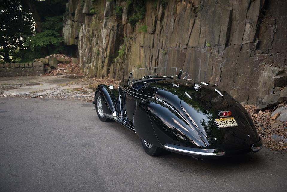 Alfa Romeo 8C 2900B rear