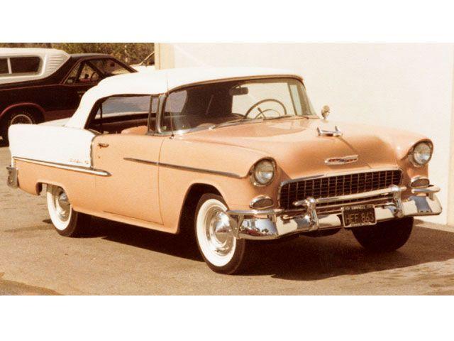 Cheech Marin's 1955 Chevy Bel Air Convertible – Mine First!